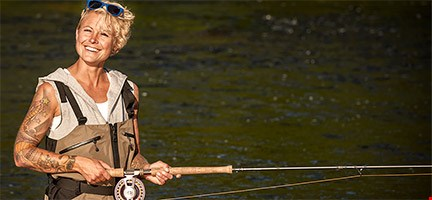 Fly Fishing package for women